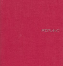 "Fabriano EcoQua Blank Notebook, Raspberry, 5.75"" x 8.25"" 40 Sheets"