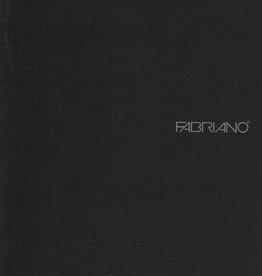 "Italy EcoQua Blank Notebook, Black, 5.75"" x 8.25"" 40 Sheets"
