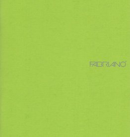 "Fabriano EcoQua Blank Notebook, Lime, 5.75"" x 8.25"" 40 Sheets"