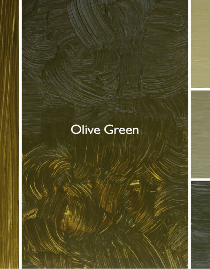 Gamblin 1980 Oil Paint, Olive Green, Series 2, Tube 37ml