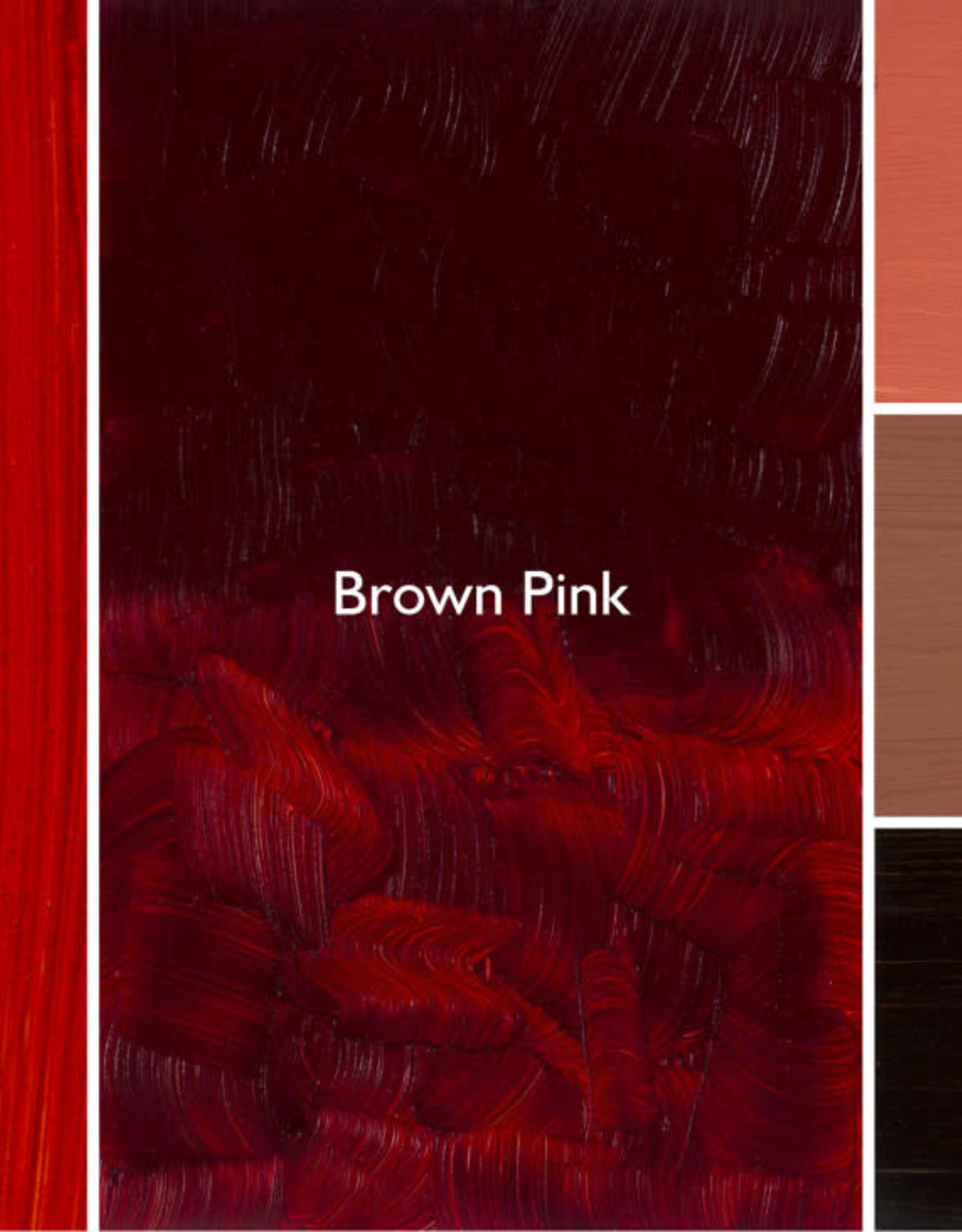 Gamblin Oil Paint, Brown Pink, Series 2, Tube 37ml