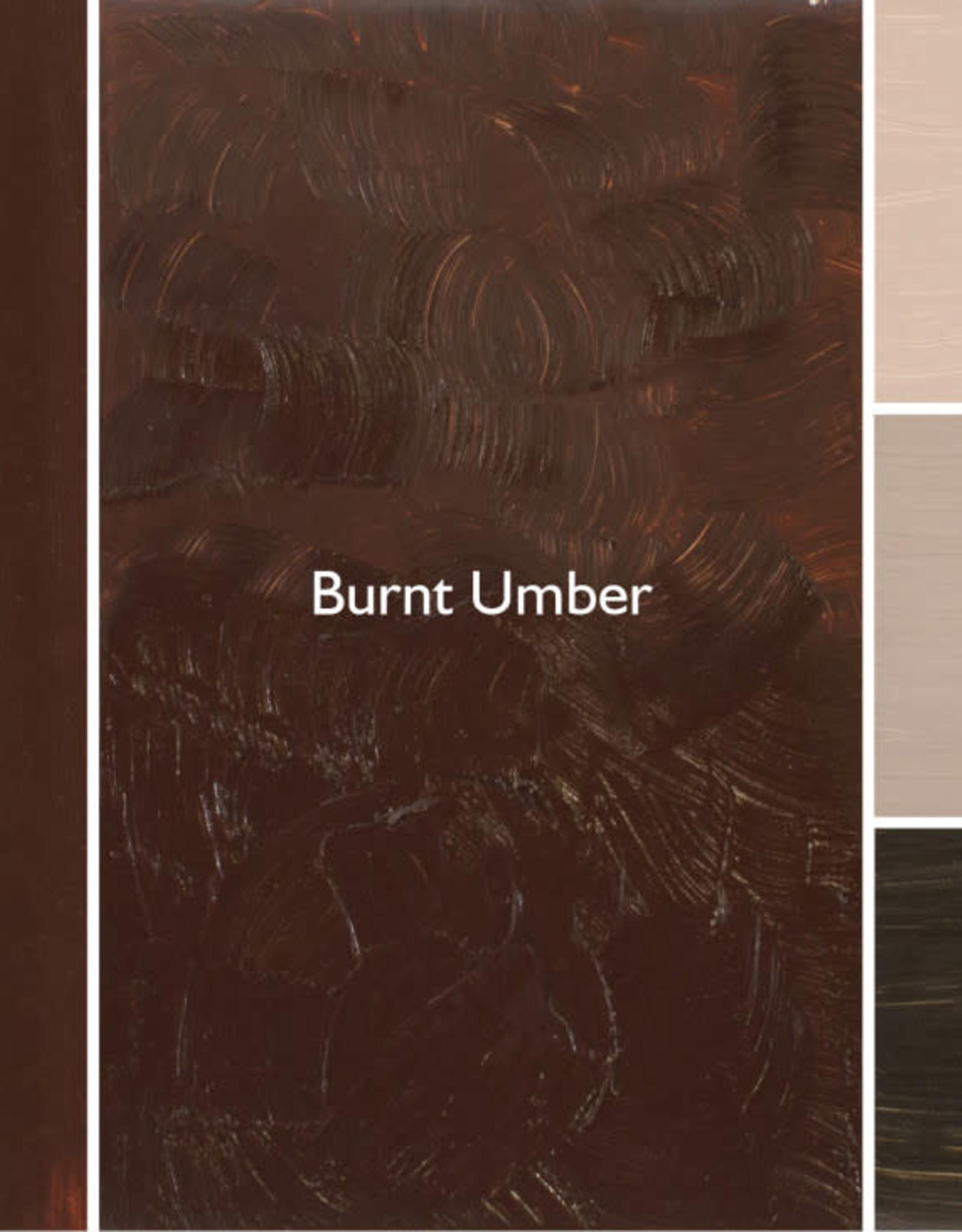 Gamblin Oil Paint, Burnt Umber, Series 1, Tube 37ml