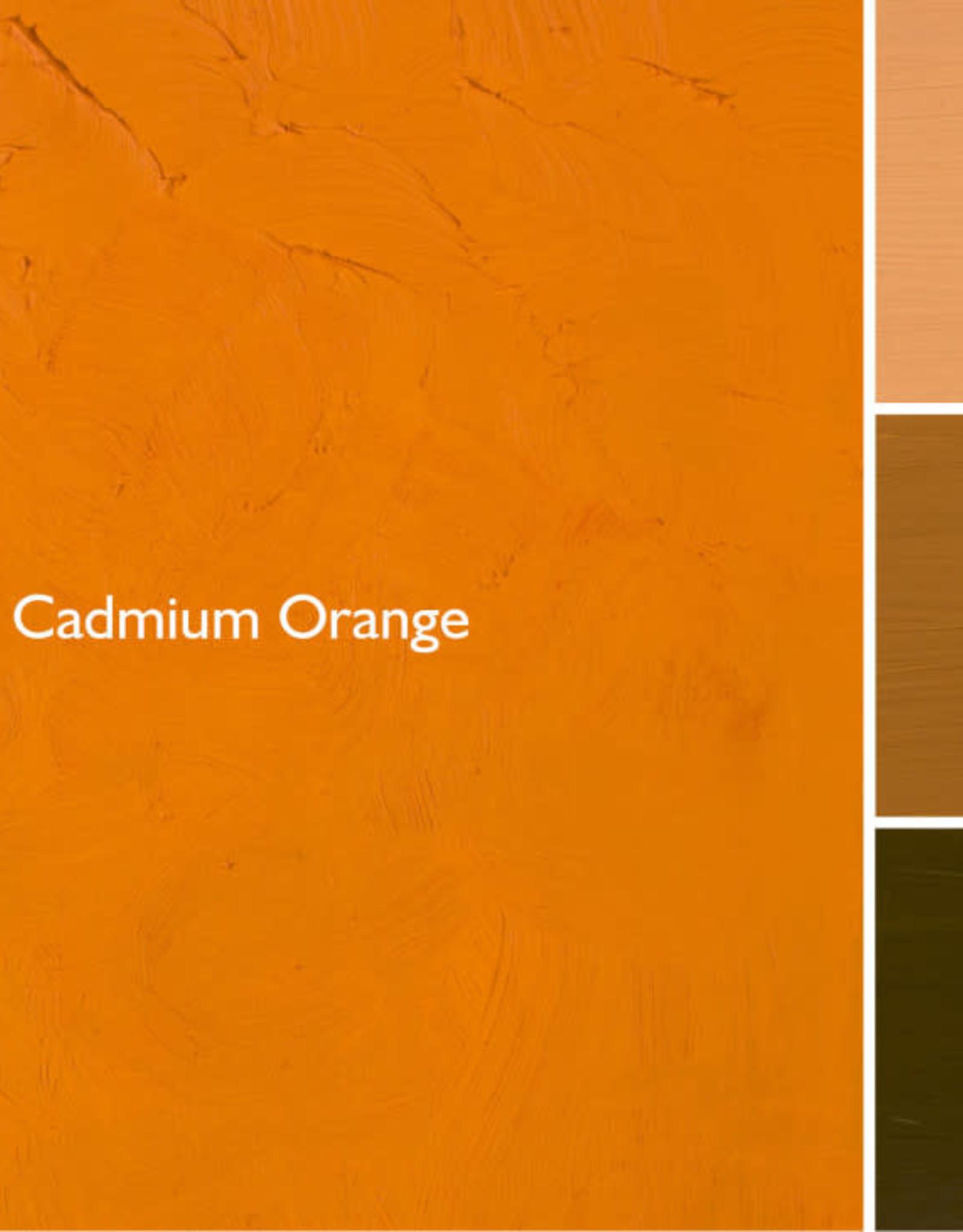 Gamblin Oil Paint, Cadmium Orange, Series 4, Tube 37ml