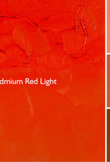 Gamblin Oil Paint, Cadmium Red Light, Series 5, Tube 37ml