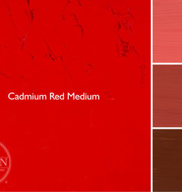Gamblin Oil Paint, Cadmium Red Medium, Series 4, Tube 37ml