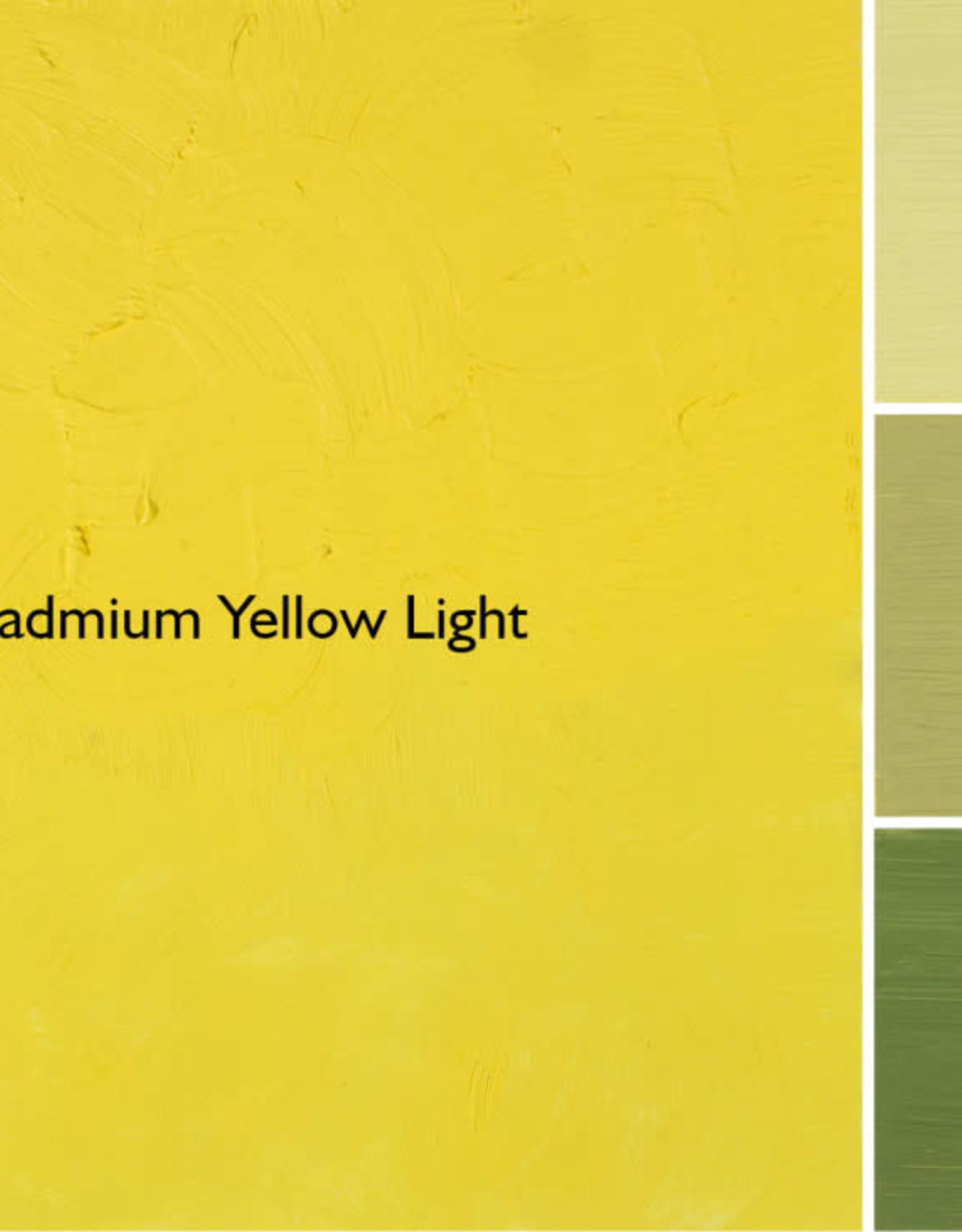 Gamblin Oil Paint, Cadmium Yellow Light, Series 4, Tube 37ml