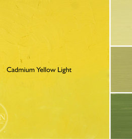 Gamblin Oil Paint, Cadmium Yellow Light, Series 4, Tube 37ml
