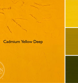 Gamblin Oil Paint, Cadmium Yellow Deep, Series 4, Tube 37ml