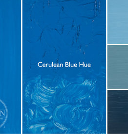 Gamblin Oil Paint, Cerulean Blue Hue, Series 2, Tube 37ml