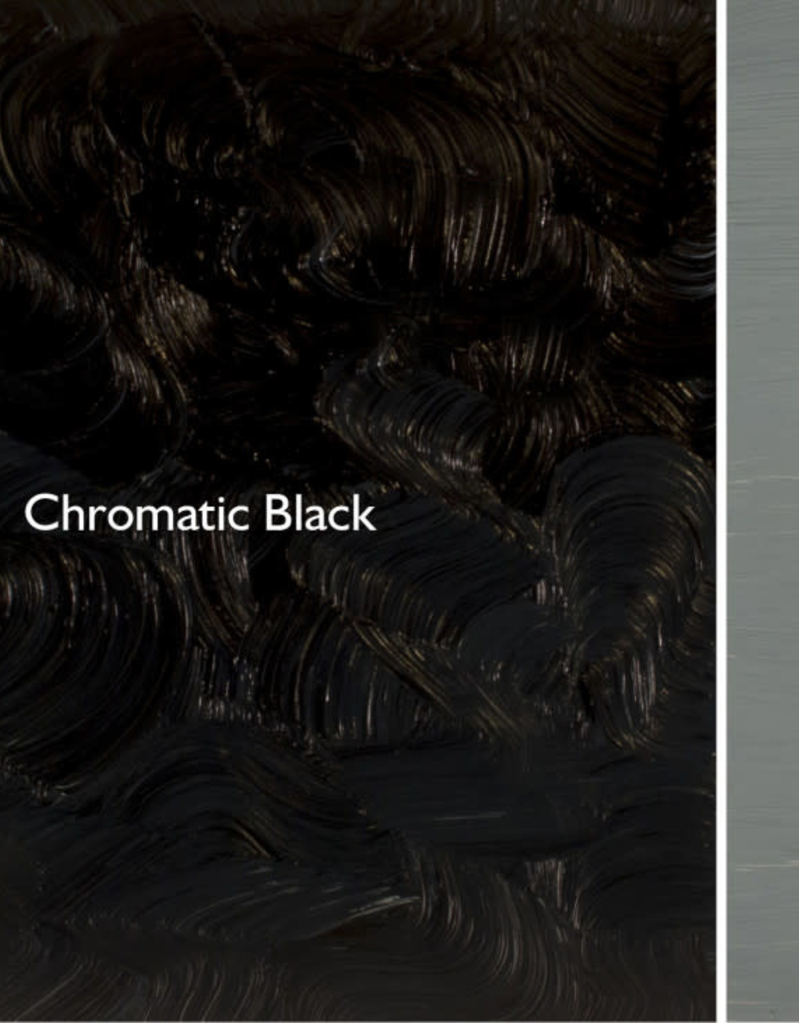 Gamblin Oil Paint, Chromatic Black, Series 2, Tube 37ml