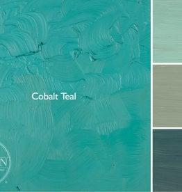 Gamblin Oil Paint, Cobalt Teal, Series 4, Tube 37ml
