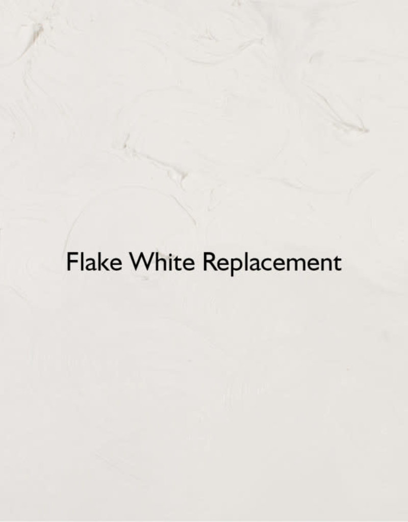 Gamblin Oil Paint, Flake White Replacement, Series 1, Tube 37ml
