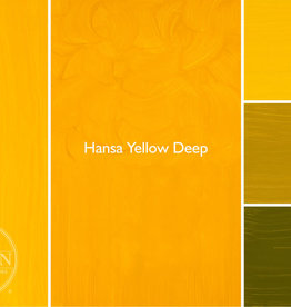 Gamblin Oil Paint, Hansa Yellow Deep, Series 3, Tube 37ml
