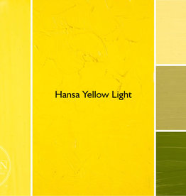 Gamblin Oil Paint, Hansa Yellow Light, Series 3, Tube 37ml