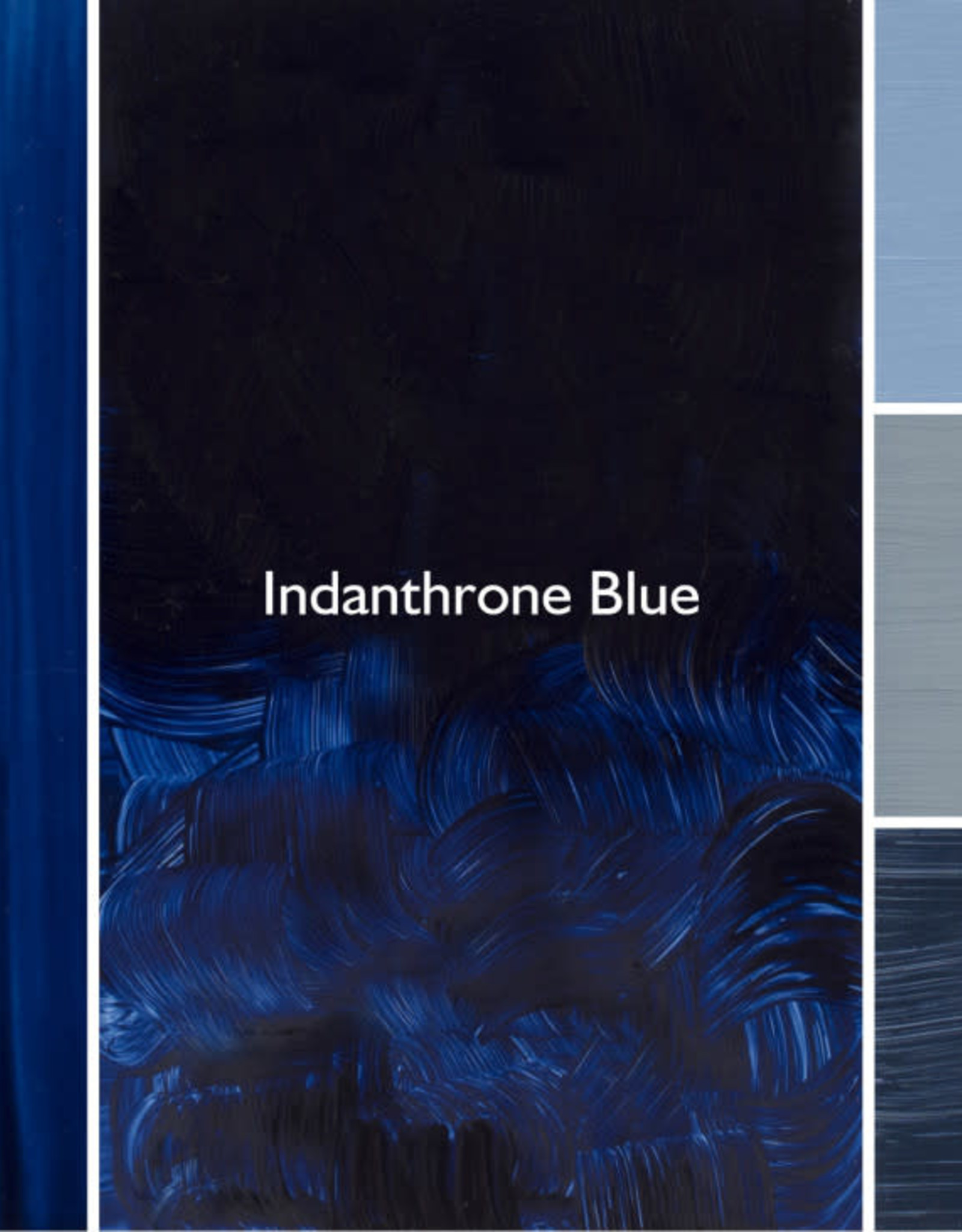 Gamblin Oil Paint, Indanthrone Blue, Series 3, Tube 37ml