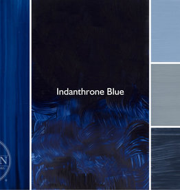 Gamblin Oil Paint, Indanthrone Blue, Series 3, Tube 37ml