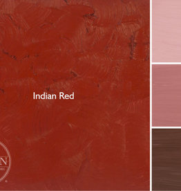 Gamblin Oil Paint, Indian Red, Series 1, Tube 37ml