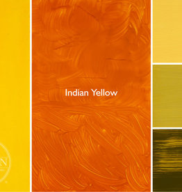 Gamblin Oil Paint, Indian Yellow, Series 3, Tube 37ml