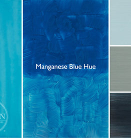 Gamblin Oil Paint, Manganese Blue Hue, Series 2, Tube 37ml