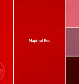 Gamblin Oil Paint, Napthol Red, Series 2, Tube 37ml