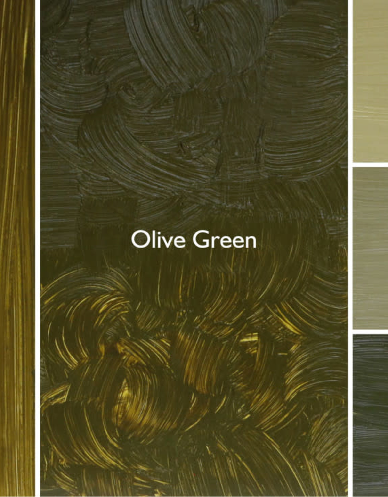 Gamblin Oil Paint, Olive Green, Series 2, Tube 37ml