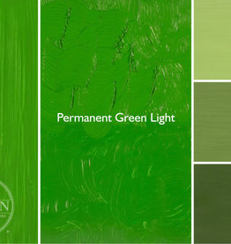 Gamblin Oil Paint, Permanent Green Light, Series 2, Tube 37ml
