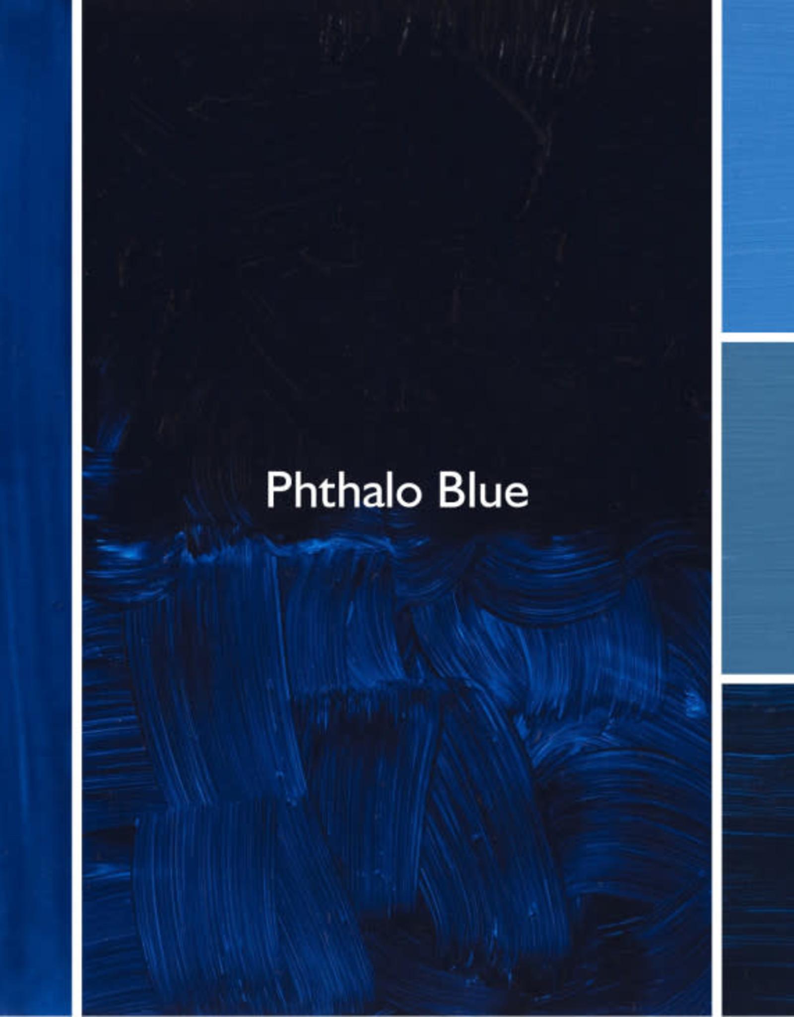 Gamblin Oil Paint, Phthalo Blue, Series 2, Tube 37ml