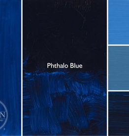 Gamblin Oil Paint, Phthalo Blue, Series 2, Tube 37ml