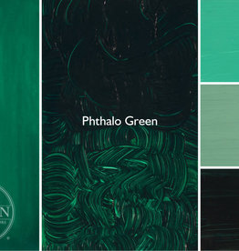 Gamblin Oil Paint, Phthalo Green, Series 2, Tube 37ml