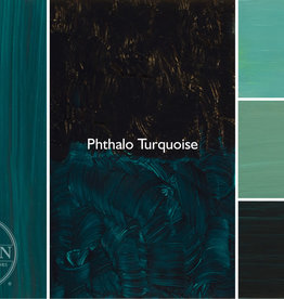 Gamblin Oil Paint, Phthalo Turquoise, Series 2, Tube 37ml