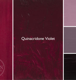 Gamblin Oil Paint, Quinacridone Violet, Series 3, Tube 37ml