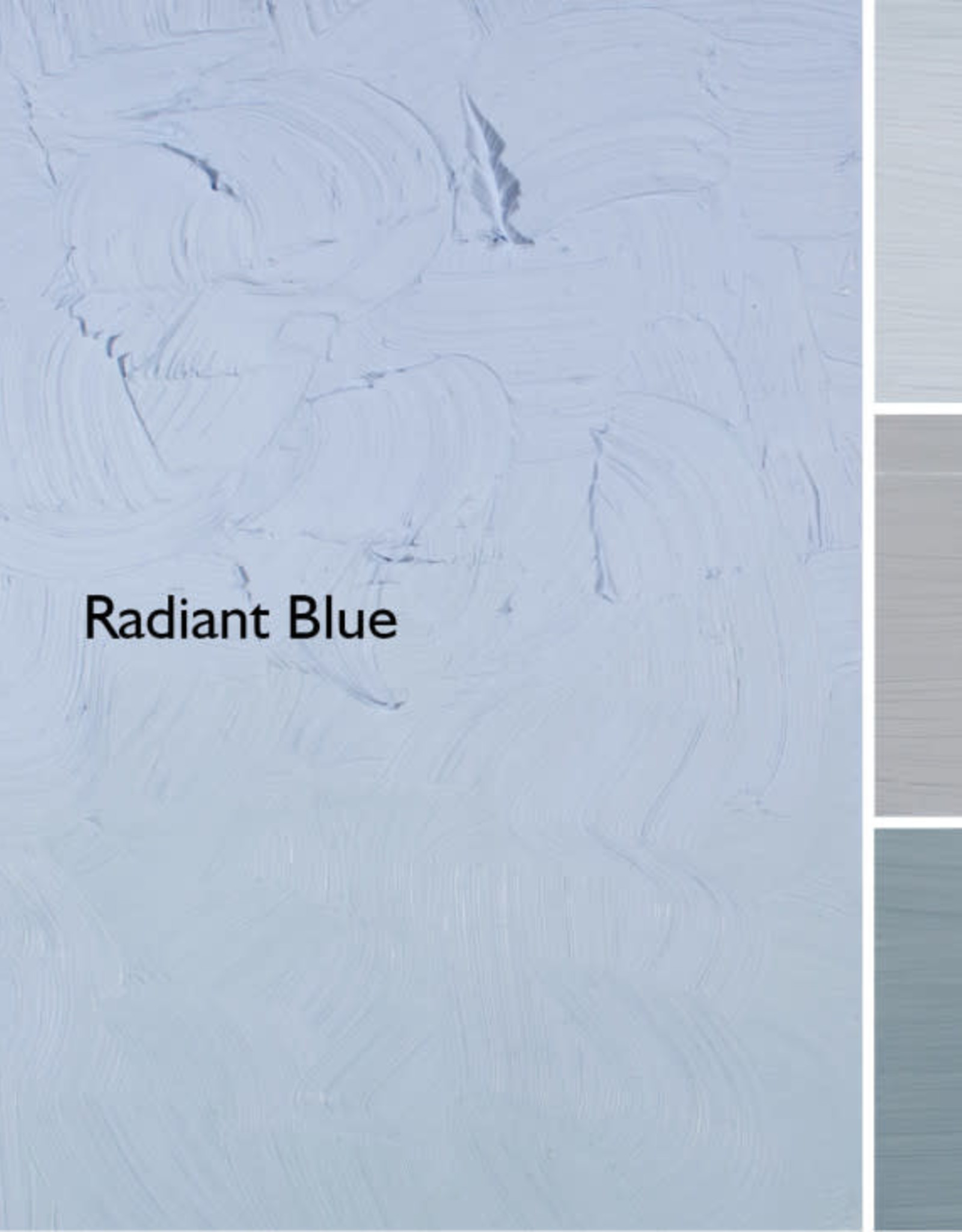 Gamblin Oil Paint, Radiant Blue, Series 2, Tube 37ml
