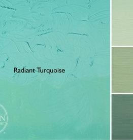 Gamblin Oil Paint, Radiant Turquoise, Series 2, Tube 37ml
