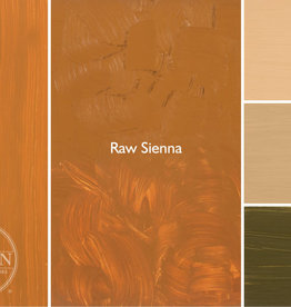 Gamblin Oil Paint, Raw Sienna, Series 1, Tube 37ml