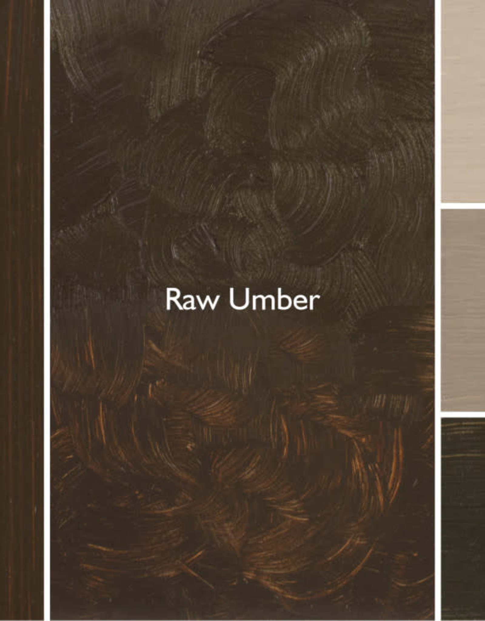Gamblin Oil Paint, Raw Umber, Series 1, Tube 37ml