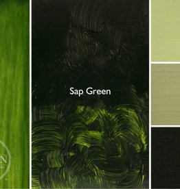 Gamblin Oil Paint, Sap Green (mixture) Series 2, Tube 37ml