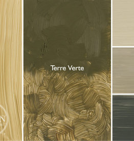 Gamblin Oil Paint, Terre Verte, Series 2, Tube 37ml