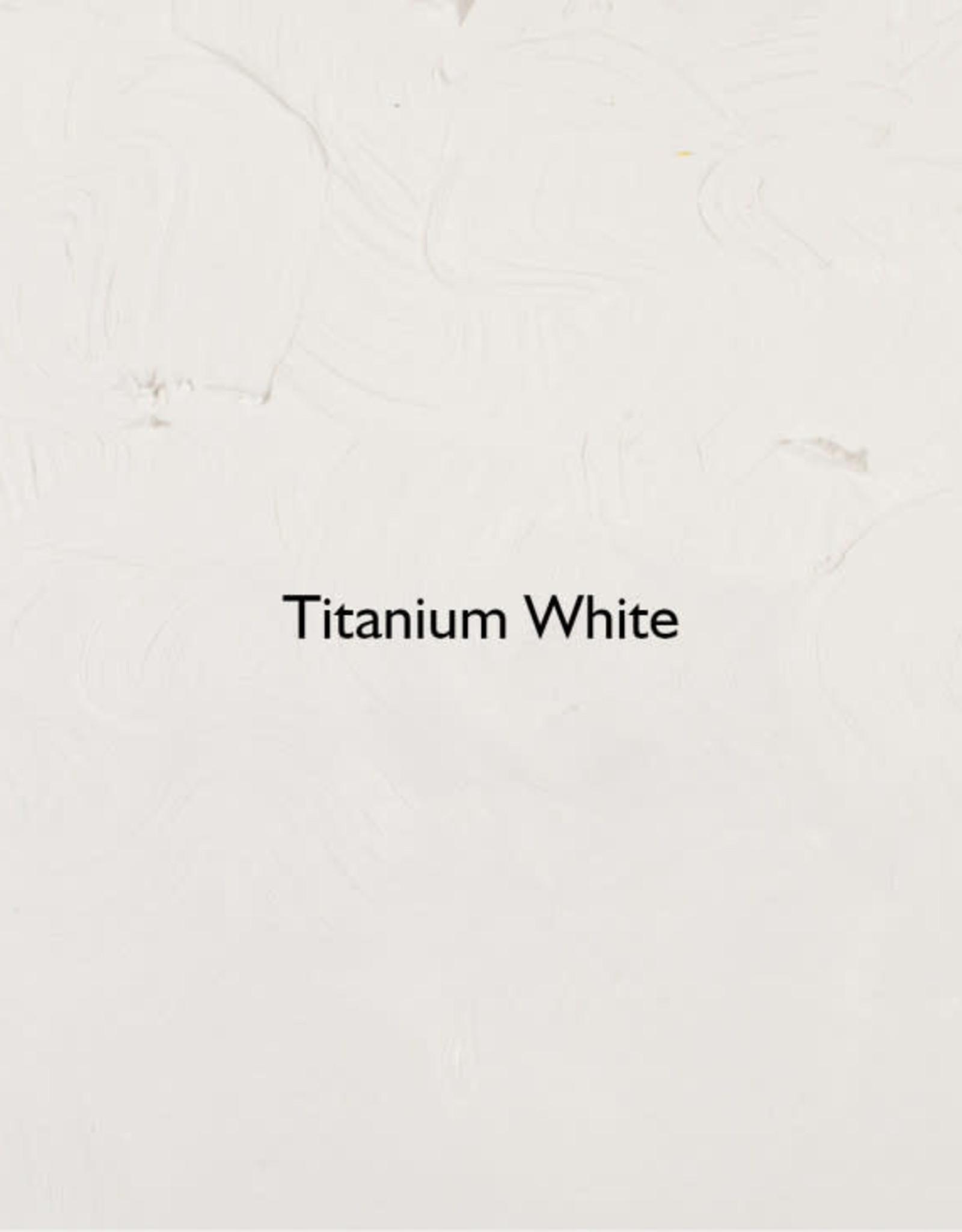 Gamblin Oil Paint, Titanium White, Series 1, 8oz Can
