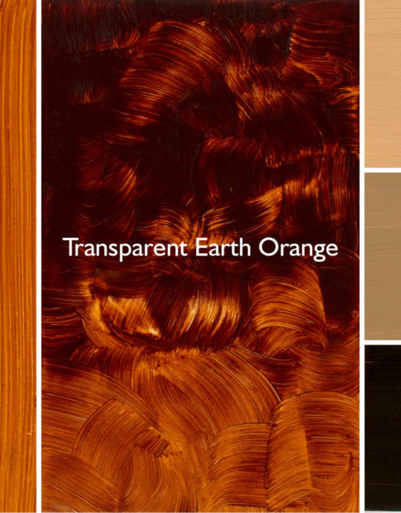 Gamblin Oil Paint, Transparent Earth Orange, Series 3, Tube 37ml