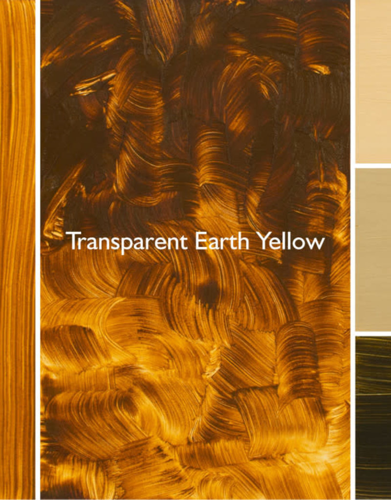 Gamblin Oil Paint, Transparent Earth Yellow, Series 3, Tube 37ml