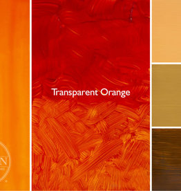 Gamblin Oil Paint, Transparent Orange (mixture), Series 3, Tube 37ml