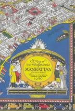 "Cavallini New York City Map 1926, Poster Print, 20"" x 28"""
