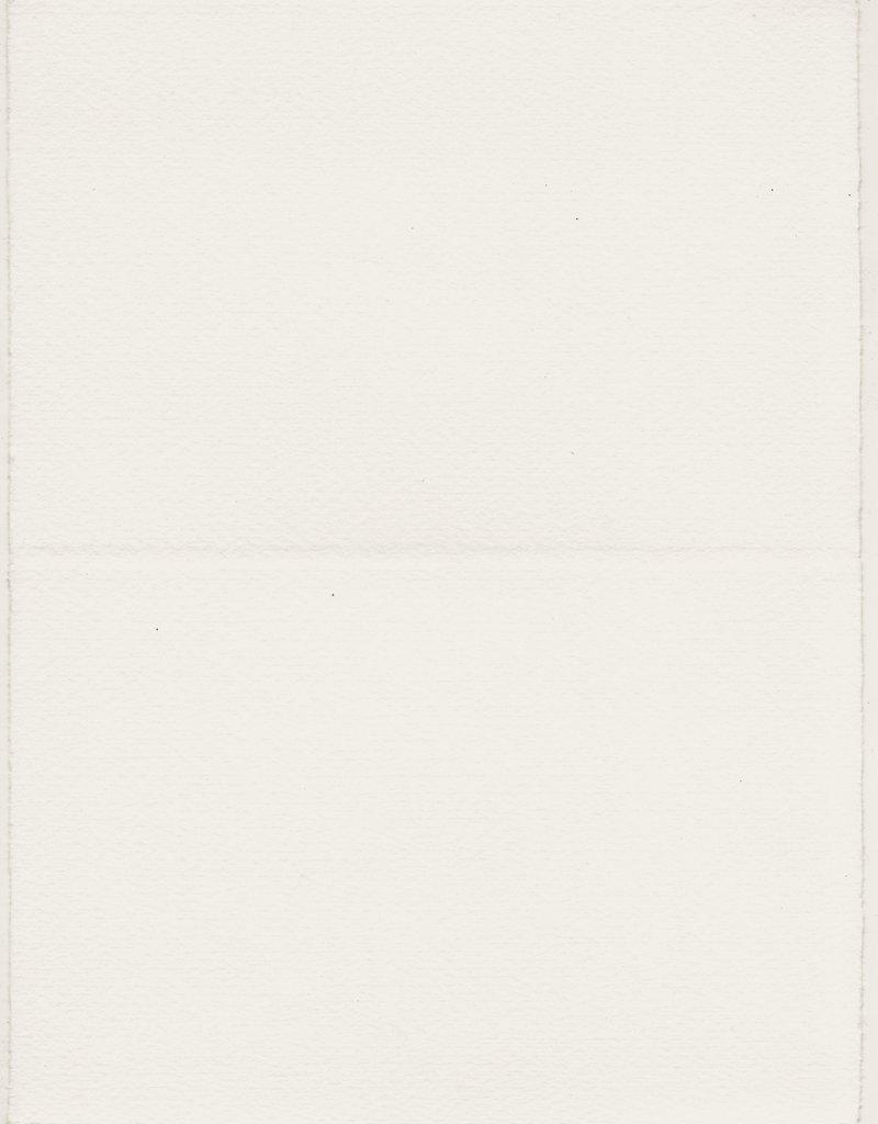 "Fabriano Medioevalis Long Folded Card, 206L,  4.5"" x 6.75"" Single  (before folded 6.75"" x 9"")"