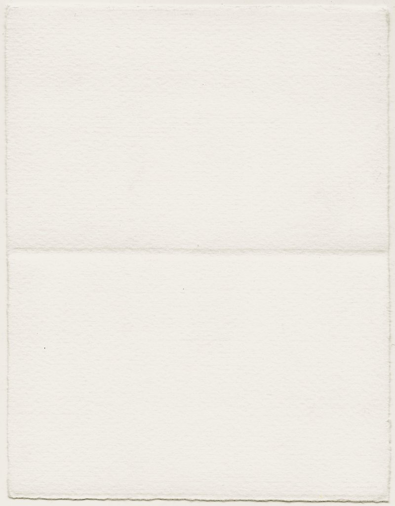 """Fabriano Medioevalis Long Folded Card, 208L, 3.3″x5.1″ Box of 100   (before folded 6.6"""" x 5.1"""")"""
