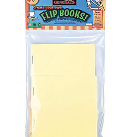 "Create Your Own Flip Books, 6 blank books, 3"" x 5"""