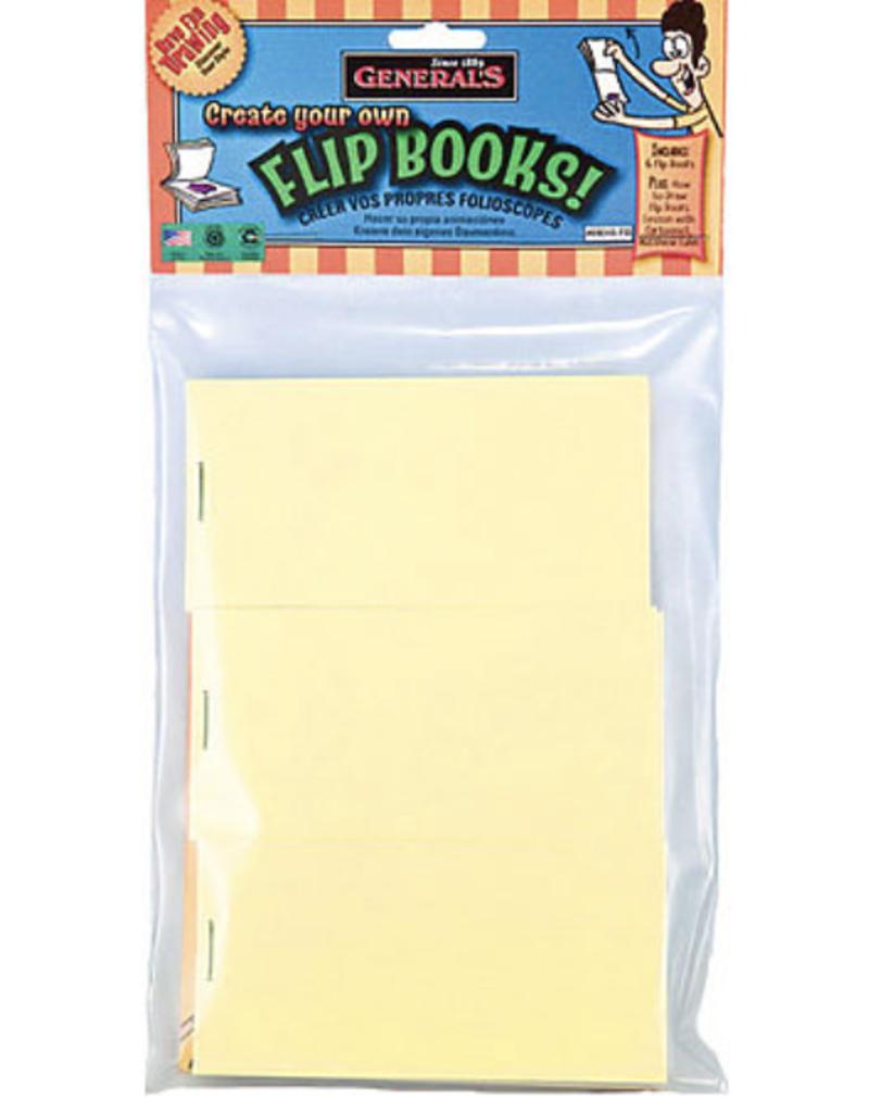 "Create Your Own Flip Books, 6 blank books, 3"" x 5"""