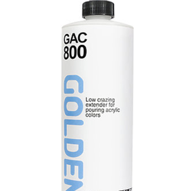 GAC 800, Golden Acrylic Extender for Pouring, Pint 16oz