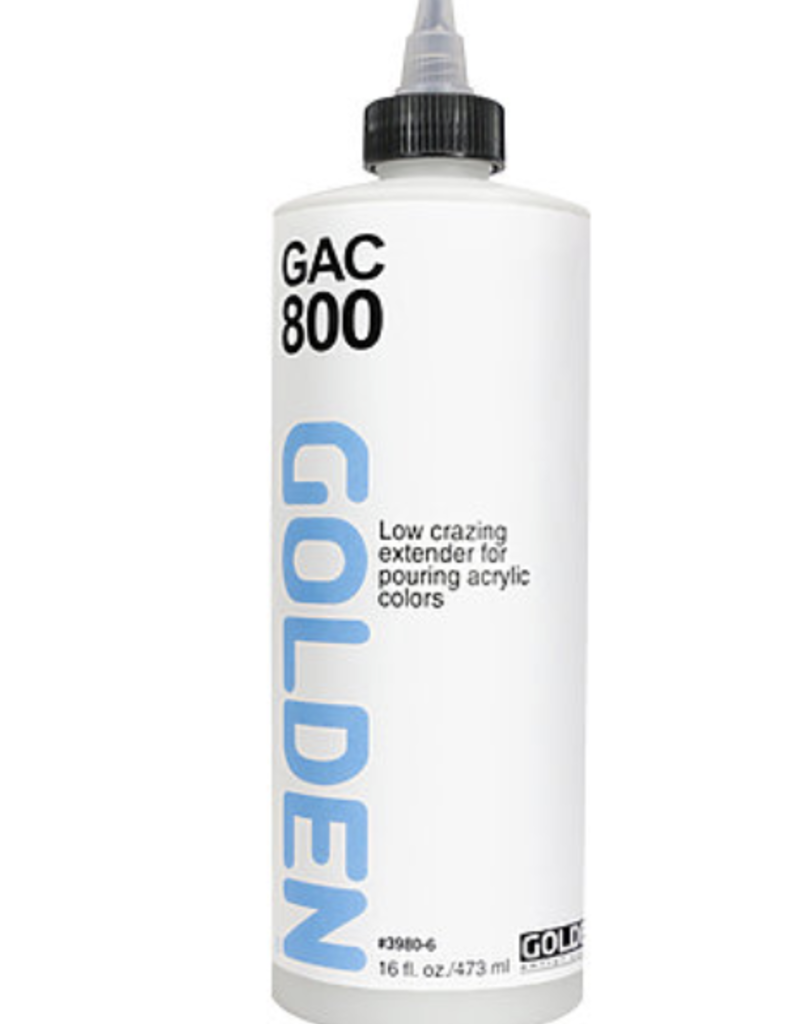 GAC 800 Acrylic Extender for Pouring, Pint 16oz