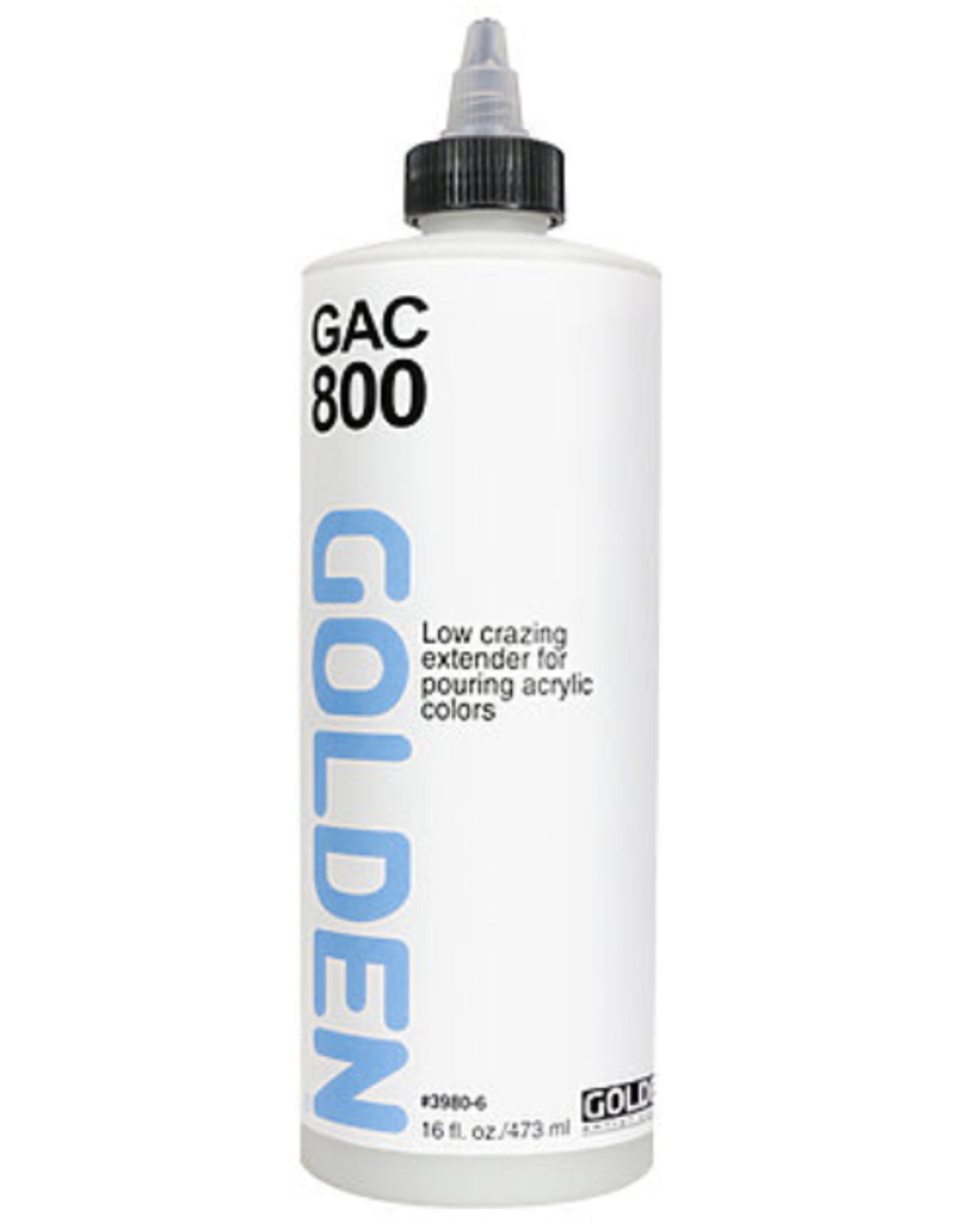 GAC 800, Golden Acrylic Extender for Pouring, 8oz