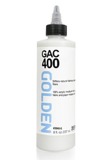 GAC 400, Golden Acrylic Polymer for Stiffening Fabrics, 8oz
